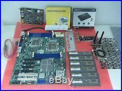 Motherboard Cpu Combo » 2x Intel Xeon X5670 + X8DTL-3F LGA 1366 +