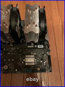 2x Xeon 2620v3 + Motherboard + CPU Coolers