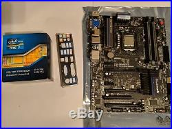 3770K I7 IVY cpu intel SR0PL 4.4GHZ 1.2v Gigabyte GA-Z77X-UD4H motherboard combo