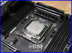 4.6GHz (4.8 capable) i7 5820k with MSI Tomahawk X99 Motherboard