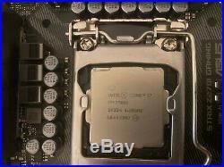 7700k i7 + ASUS Z270i STRIX ROG mITX + 16GB tridentZ RGB RAM