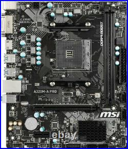 AMD 3 2200G MSI Mainboard 16GB RAM Ryzen PC Bundle Kit + GRAFIK