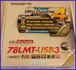 AMD 8 Core FX 8350 4.0Ghz + Gigabyte 78LMT USB 3.0 Motherboard PC Bundle Deal