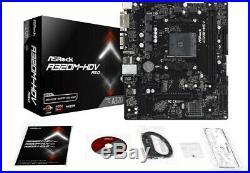 AMD A6 9400 / ASROCK A320M / DDR4 4GB / kit Mainboard Prozessor Bundle