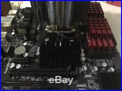AMD FX 6300 6-core CPU, 16gb Ripjaws DDR3, Asrock Motherboard Combo