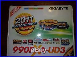 AMD FX-8320, Gigabyte 990FXA-UD3 Motherboard, 8GB DDR3, Corsair H80i V2 bundle