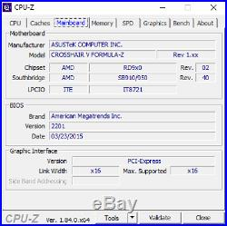 AMD FX-9590 + Asus Crosshair V Formula-Z combo