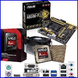 AMD Kaveri A10 7700K 3.4Ghz & ASUS A88XM-PLUS Inc Radeon R7 BOARD & CPU Bundle
