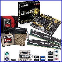 AMD Kaveri A10 7850K 3.7Ghz & ASUS A88XM-PLUS Inc Radeon R7 GFX & 16GB DDR3 1600
