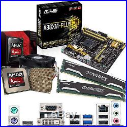 AMD Kaveri A10 7850K 3.7Ghz & ASUS A88XM-PLUS Inc Radeon R7 GFX & 8GB DDR3 1600