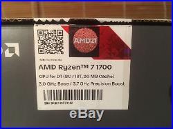 AMD MSI X370 Gaming Pro Carbon 8 Core Ryzen 7 1700 16gb DDR4 3000Mhz Bundle