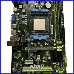 AMD Quad-Core 3.7GHz 16GB Radeon HD HDMI USB3 Gaming Motherboard CPU RAM Combo