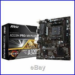 AMD Quad Core Gaming Motherboard CPU Bundle 8GB DDR4 RAM Pre Assembled