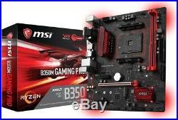 AMD RYZEN 3 2200G Quad-Core 3.5 GHz APU + MSI B350M-Gaming Pro MOBO Combo