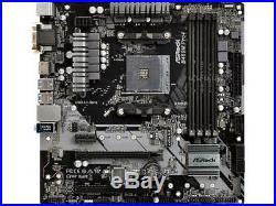 AMD RYZEN 5 1600 6-Core 3.2 GHz AM4 Processor & ASRock B450M Pro4 Mobo Combo