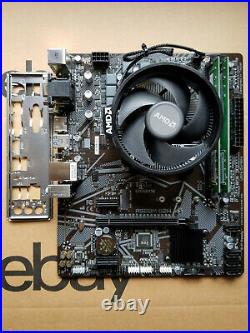 AMD Ryzen 2400GE Processor + Gigabyte AM4 Motherboard + 8GB DDR4 Ram Combo