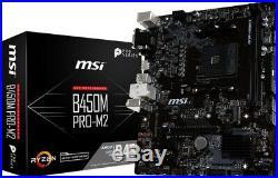 AMD Ryzen 2600 / MSI RX570 8Gb / MSI B450 Mainboard / DDR4 16GB RAM / Gaming kit