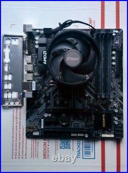 AMD Ryzen 2700X Processor + Gigabyte B450M AM4 Motherboard Combo