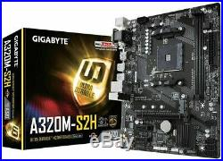 AMD Ryzen 4 Core 4.0GHz Gigabyte A320M PRO Gaming Motherboard Bundle 16GB RAM