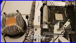 AMD Ryzen 5 1600 CPU and Asrock X370 Killer SLI/ac Motherboard
