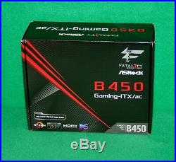 AMD Ryzen 5 1600 Ryzen & AsRock B450 Gaming-ITX/AC MoBo & 16GB DDR4-3200 COMBO