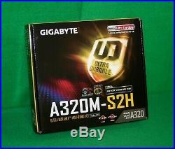 AMD Ryzen 5 1600 Ryzen Processor /& Gigabyte A320M-S2H mATX Motherboard COMBO