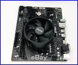 AMD Ryzen 5 2600X 6-Core 3.6/4.25Ghz 8GB RAM 120GB SSD Motherboard Gaming Combo