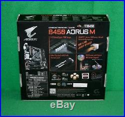 AMD Ryzen 5 2600X & Gigabyte B450 Aorus M mATX Motherboard & 8GB RAM BUILD COMBO