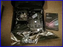 AMD Ryzen 5 2600X Hex Core Asus Strix B450-F Motherboard CPU Bundle NO RAM