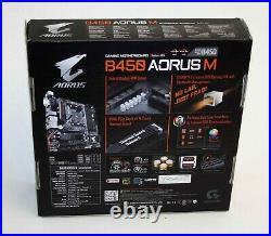AMD Ryzen 5 3600X & Gigabyte B450 Aorus M mATX Motherboard & 16GB RAM BILD COMBO