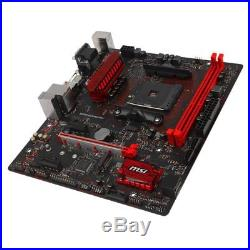 AMD Ryzen 7 1700x 8 cores & MSI A320M Gaming PRO AM4 mATX NEW Motherboard Combo