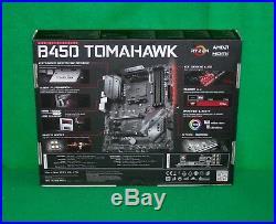 AMD Ryzen 7 2700X 3.7GHz 8 core & MSI B450 Tomahawk ATX MB + 16GB RAM Combo