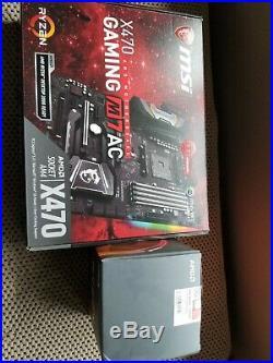 AMD Ryzen 7 2700X 3.7GHz 8 core & MSI Gaming M7 AC X470 ATX Motherboard Combo