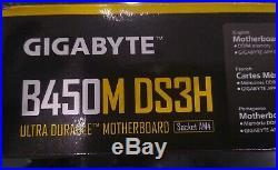 AMD Ryzen 7 2700X 3.7GHz, Gigabyte B450M DS3H, Geil 16GB ddr4-3200 RAM Combo