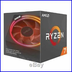 AMD Ryzen 7 2700X 3.7GHz with Wraith Prism Cooler Gigabyte B450M DS3H mATX Combo