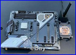 AMD Ryzen 9 3900X Processor + ASRock x570 Taichi AM4 Motherboard + water block