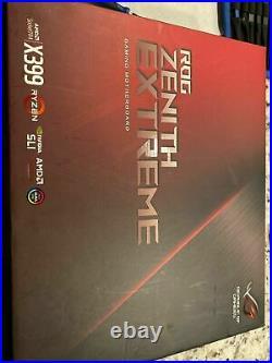 AMD Ryzen Threadripper 1950x + ASUS ROG Zenith Extreme X399 Motherboard