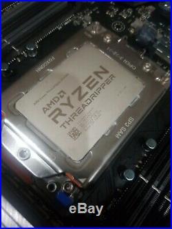 AMD Ryzen Threadripper 2990WX + ROG Zenith Extreme X399 Gaming Motherboard