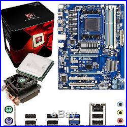 Motherboard Cpu Combo Amd X8 Core Fx 8320 3 5ghz Gigabyte 970a Ds3 Board Cpu Bundle