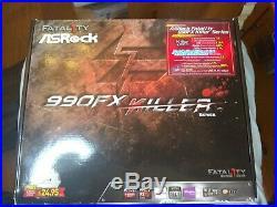 ASROCK Fatal1ty 990FX Killer, AM3+, AM3 motherboard & Phenom II X4 965 BE Proc