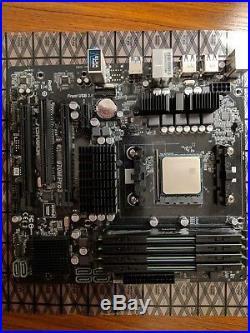 ASRock 970M Pro3 AM3+ Micro ATX MB, AMD FX-4130 Quad 3.8, 16GB DDR3 Adata XPG