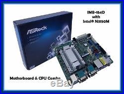 ASRock IMB-154D Mini-ITX Motherboard with Intel N3150 Quad Core CPU NEW