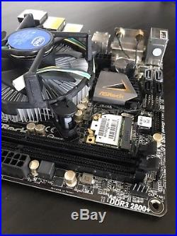 ASRock Z77E-ITX LGA 1155 Z77 Mini ITx Motherboard+CPU COMBO-I3 2120T