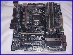 ASUS Gryphon Z87m + Intel core i5 4670k + 8gb DDR3 Overclock Ready Tested 100%