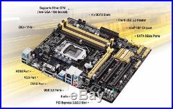 ASUS H87m plus Intel i7 4770k Corsair Veng 16GB Gaming PC upgrade Bundle