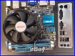 ASUS MOTHERBOARD BUNDLE P8H61-I LX R2.0/RM/SI i5-3330@3.0GHZ 4GB DDR3