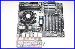 ### ASUS P5Q-E + Intel Core2Quad Q9650 + 4GB + Kühler + Blende + RECHNUNG ###