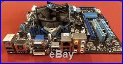ASUS P7H55-M PRO Motherboard + Intel i5 CPU + 250GB Seagate HD + 4GB Crucial Ram