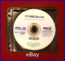 ASUS P7H55-M PRO Motherboard + Intel i5 CPU + 500GB Seagate HD +8 GB Crucial Ram