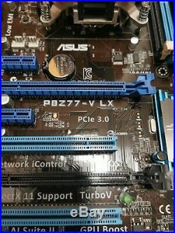 ASUS P8Z77-V LX Mainboard mit Intel Core i5-3470 4x 3,20GHz CPU und Cooler